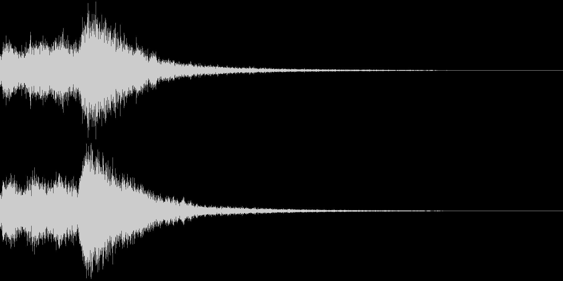 オーケストラヒット ジングル! 03+の未再生の波形