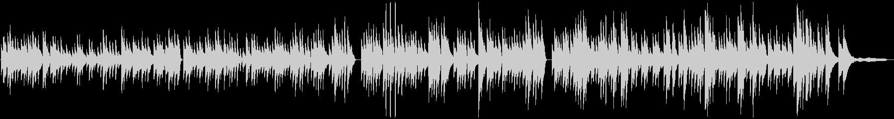 バッハBWV1013ピアノソロの未再生の波形