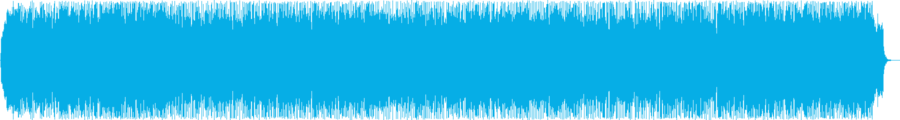 物語の始まりを告げるような明るく元気な曲の再生済みの波形