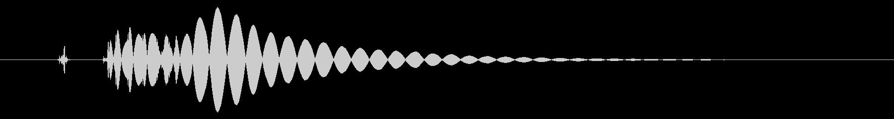 EDM/IDM系の埋もれないバスドラ3bの未再生の波形
