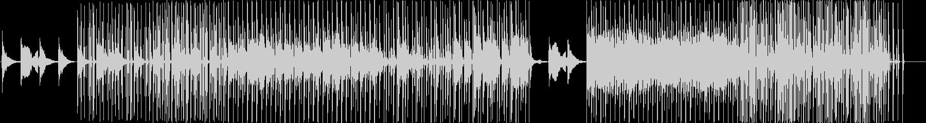 トリッキーな旋律の和風の電子音楽の未再生の波形