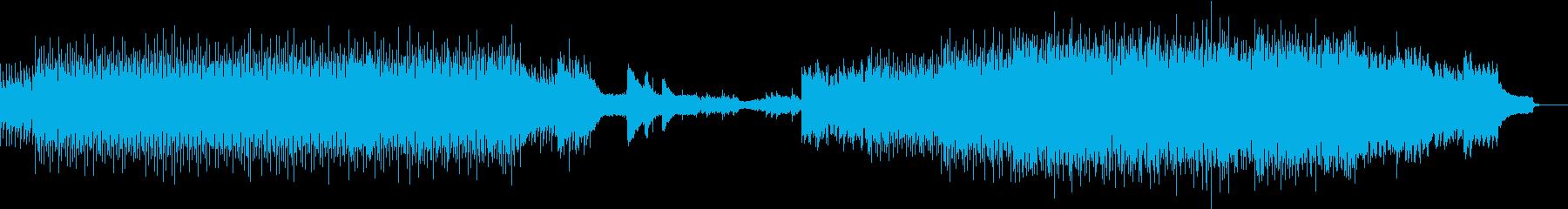 生音と機械音が奏でる爽快テクノロックの再生済みの波形