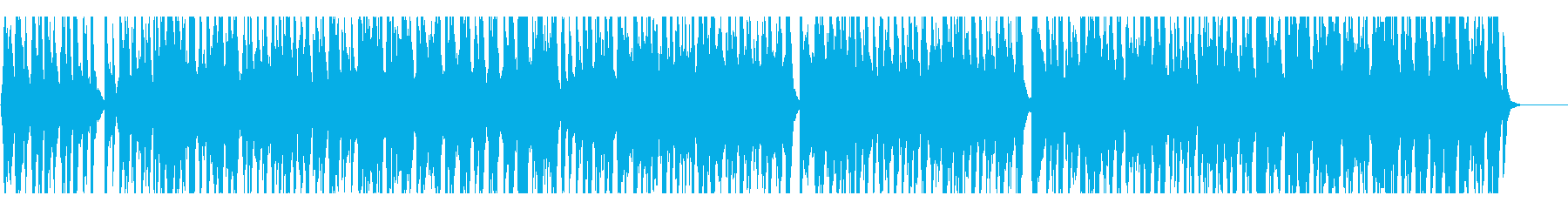 軽快で朗らかなラグタイムバンドの再生済みの波形