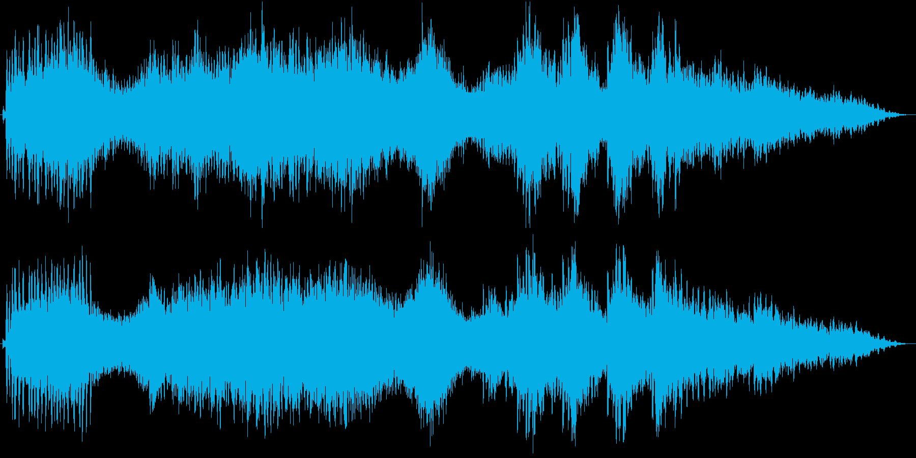 アクアリウム。水族館用の環境BGM の再生済みの波形