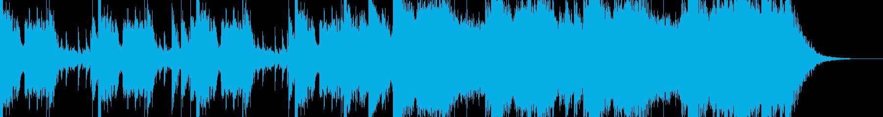 壮大なシネマティックなジングルの再生済みの波形