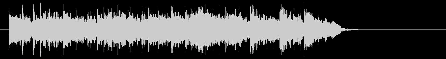 安心感のあるフュージョン(イントロ)の未再生の波形