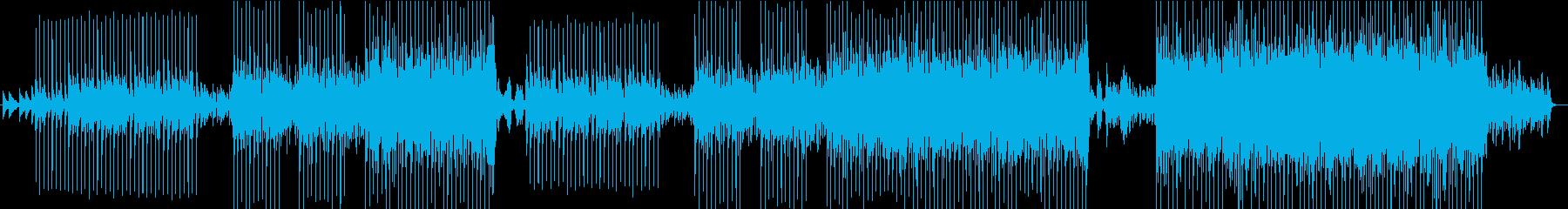 切ないラブソングの再生済みの波形