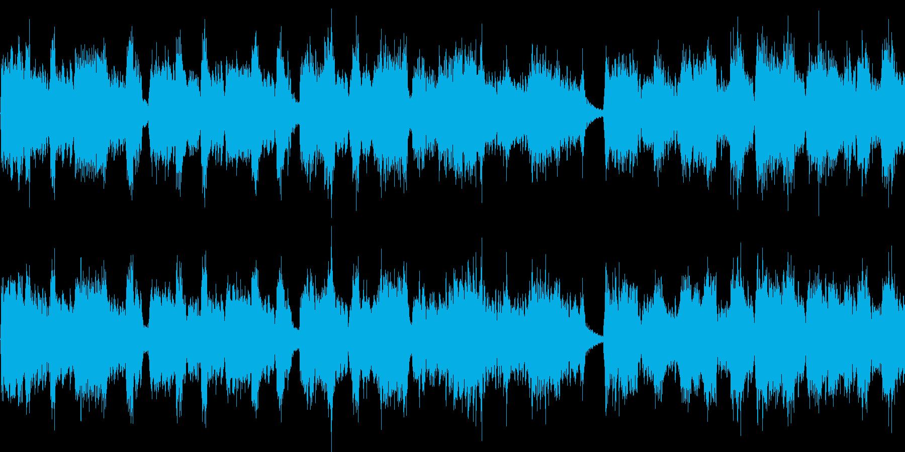 物語の途中道端で出てきそうなBGMの再生済みの波形