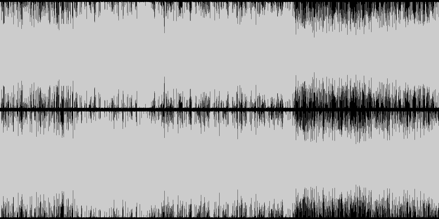 ダークなサスペンスシネマサウンドループSの未再生の波形