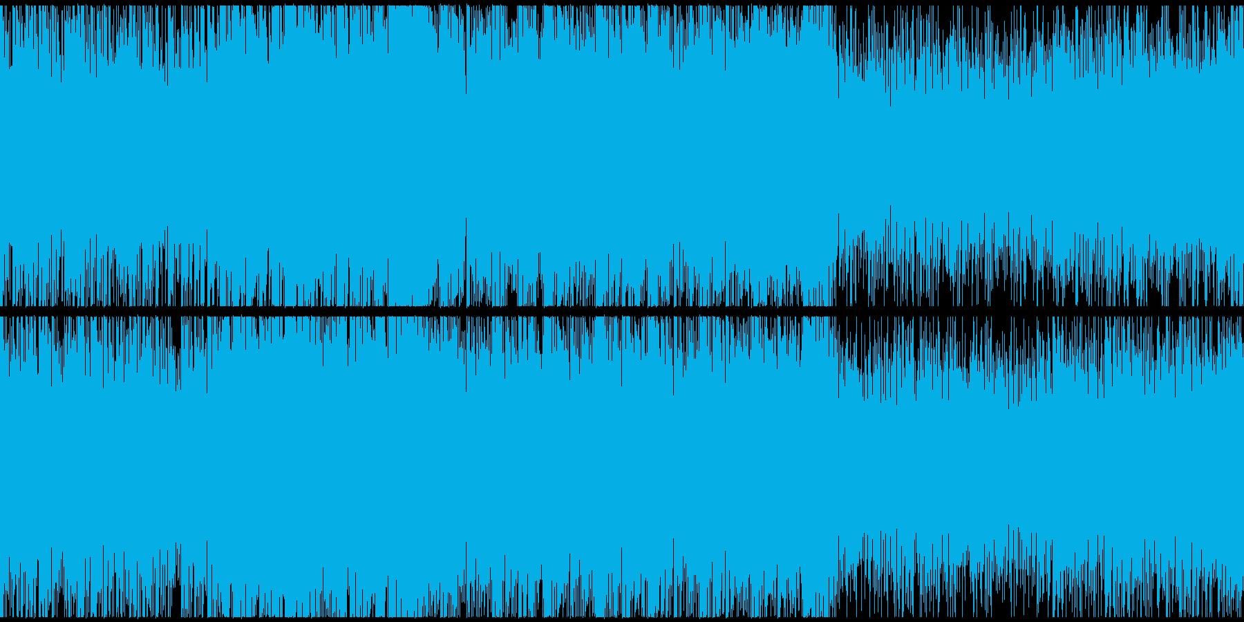 ダークなサスペンスシネマサウンドループSの再生済みの波形