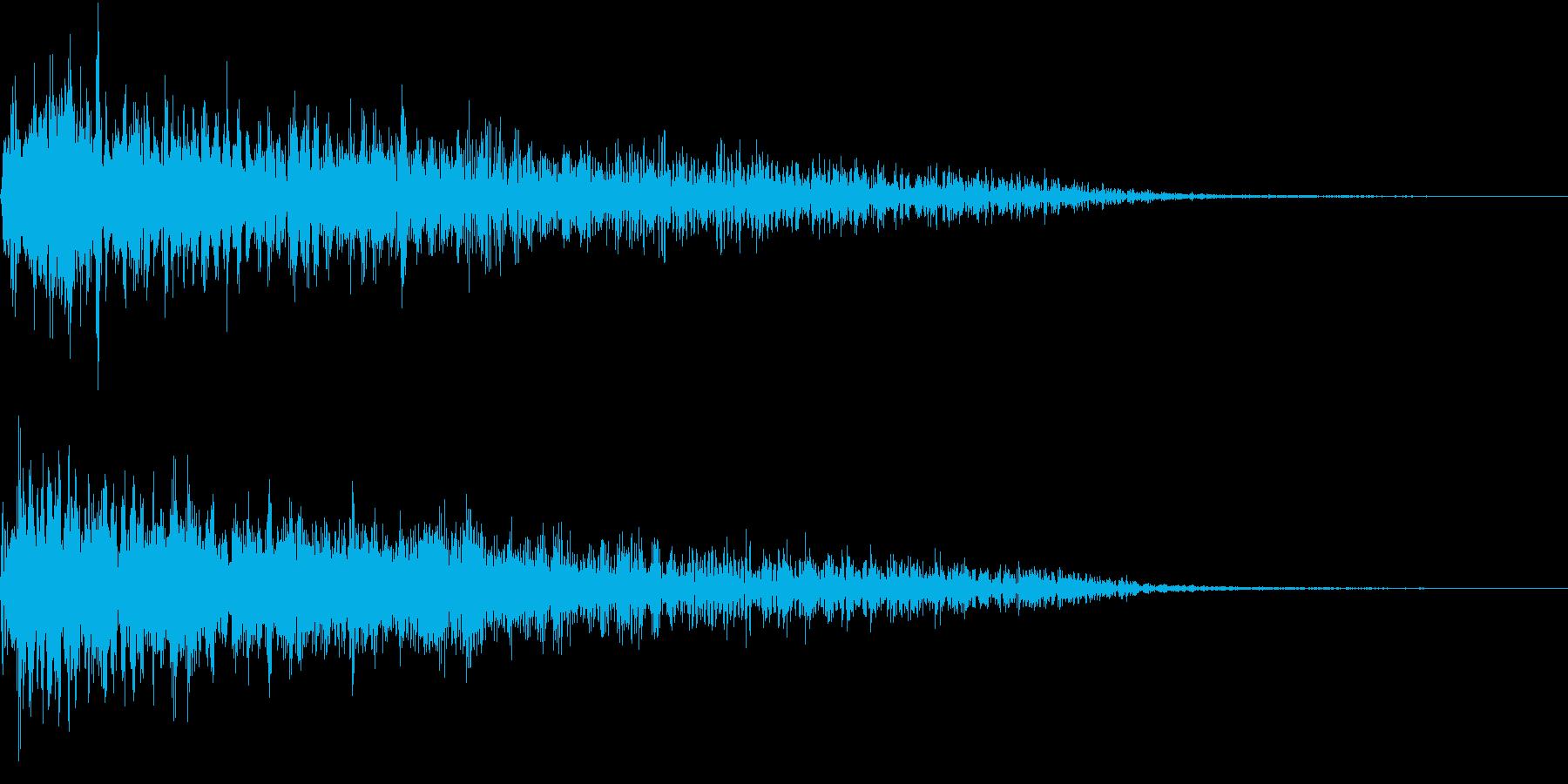 InvaderBuzz 発砲音 13の再生済みの波形