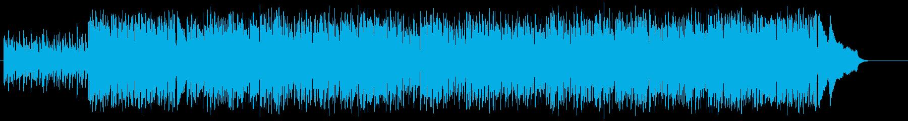 明るい潤いのアコースティックなボサノバの再生済みの波形