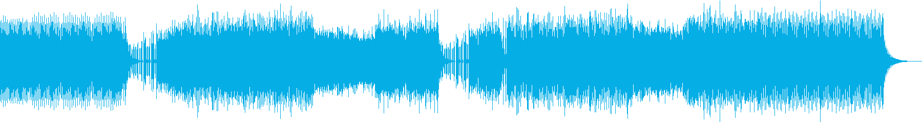 プログレッシブ、エレクトロの再生済みの波形
