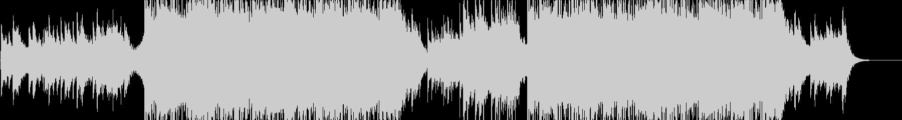 綺麗な印象のドラムンベース/歌なしの未再生の波形