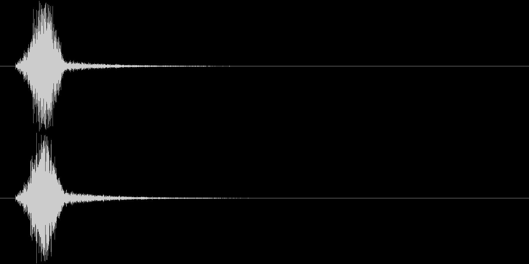 場面転換の未再生の波形