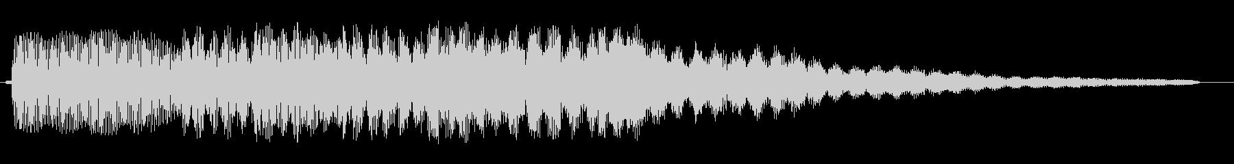 ピンポンパンポン、というお知らせ音の未再生の波形