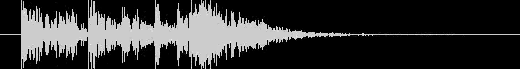 短い和風の効果音 2の未再生の波形