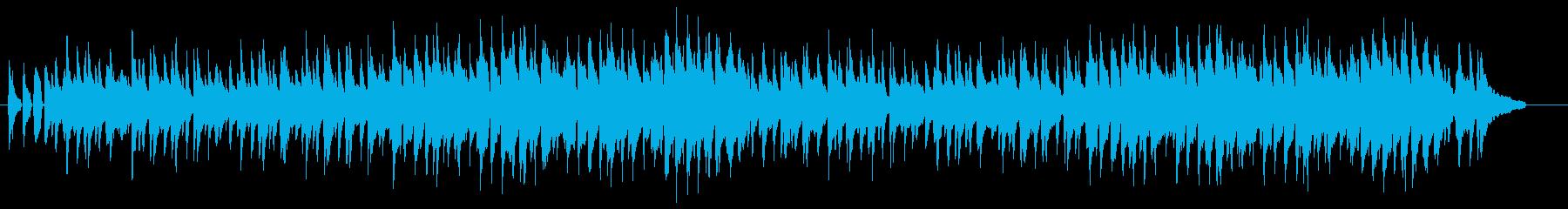 素朴でコミカルな、ピアノとウクレレがメ…の再生済みの波形