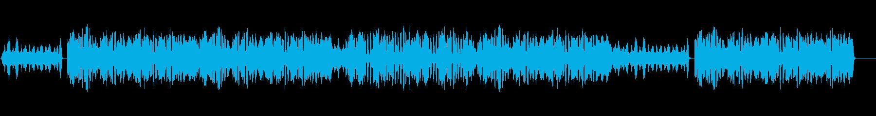 ウェディングムービーの幼少期にぴったりの再生済みの波形