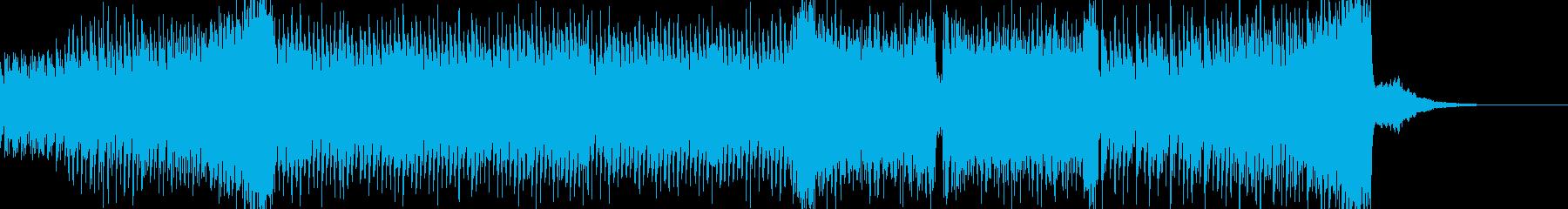 憂鬱なピアノ UKハードコア 60秒の再生済みの波形
