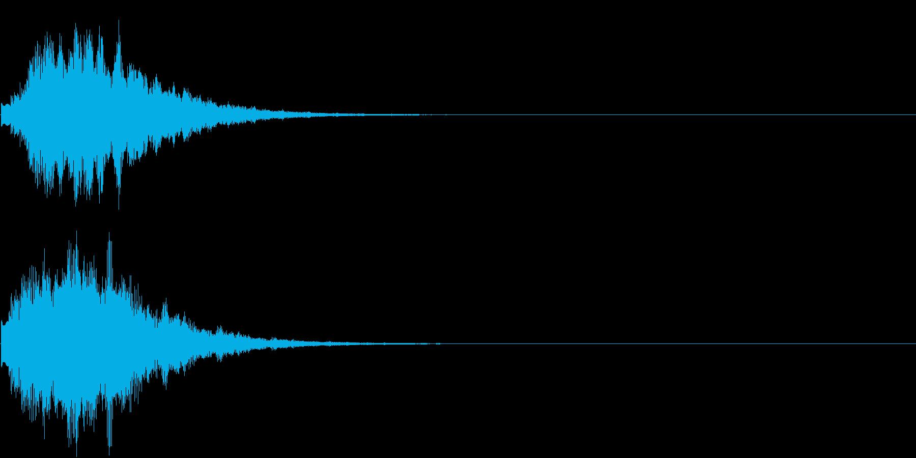 オープニング ロゴ VP等テロップに 4の再生済みの波形
