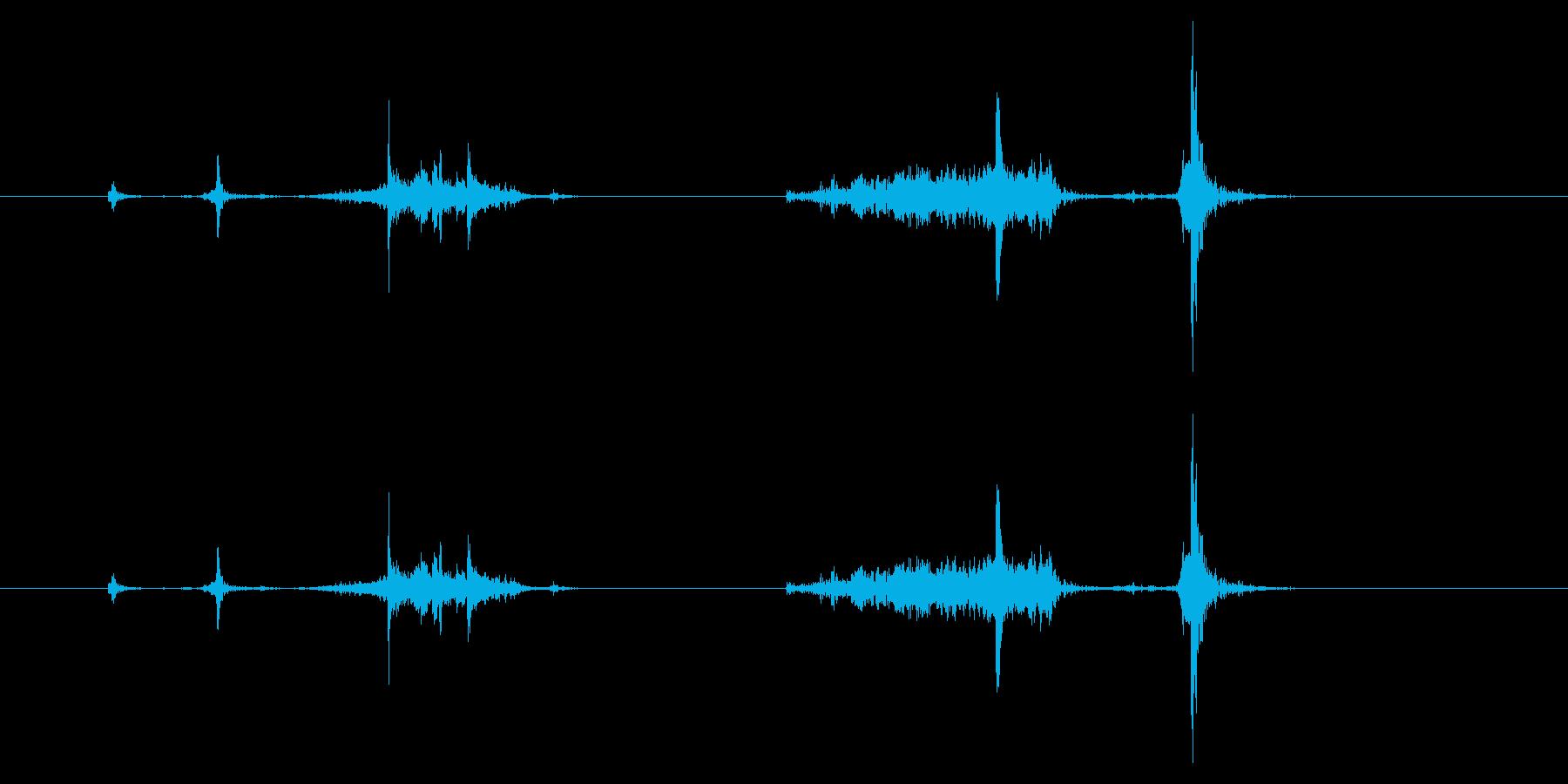 PC ハードウェア01-07(PCカードの再生済みの波形