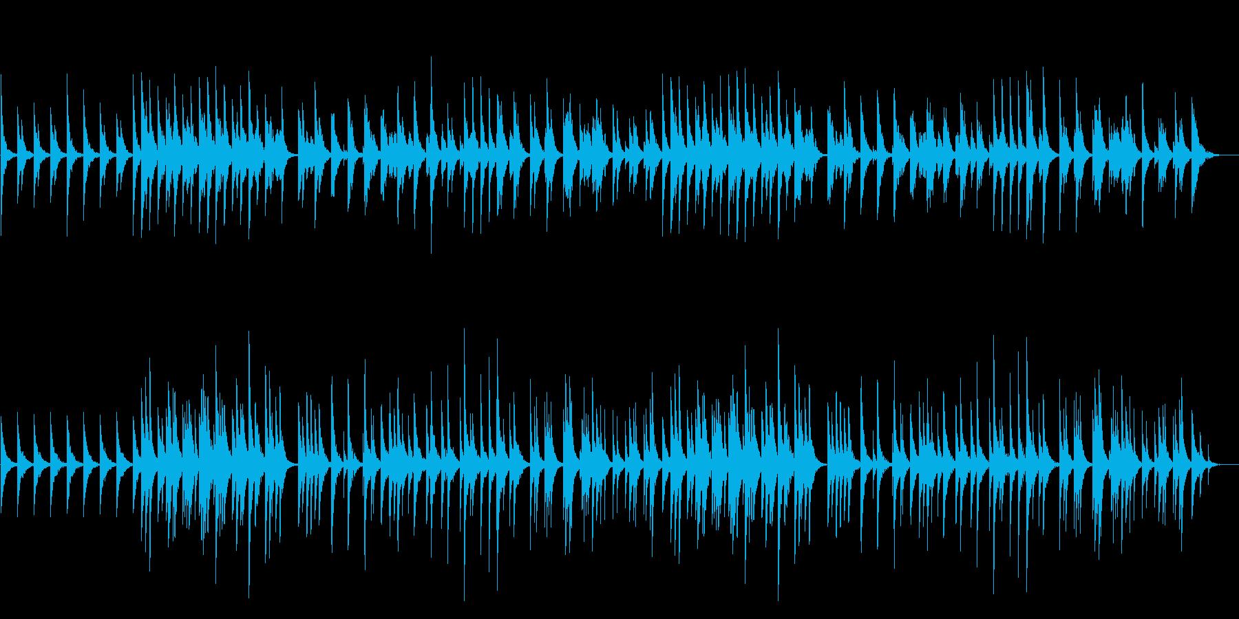 癒しのオルゴールの再生済みの波形
