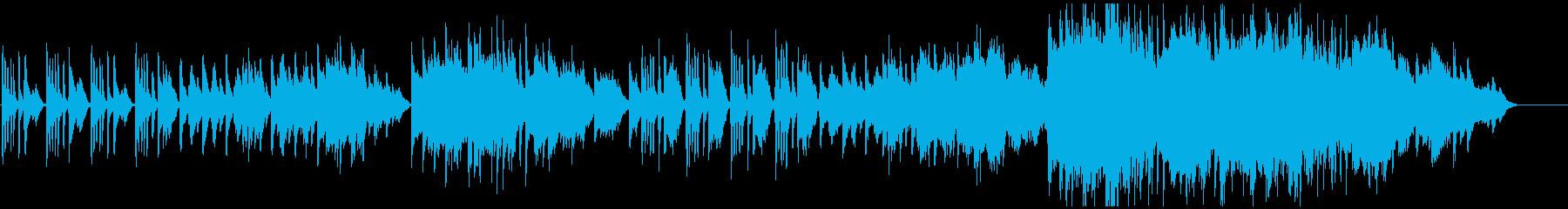上品で穏やかな皇室用ピアノ曲aの再生済みの波形