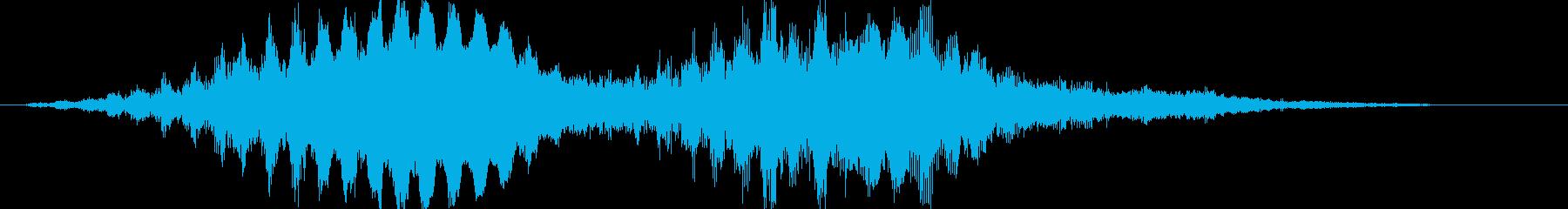 【映画】 ホラー FX 不可思議の再生済みの波形