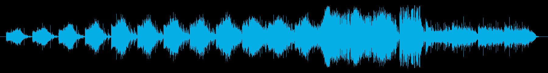 色々な音を組み合わせたリズム形を基調に…の再生済みの波形