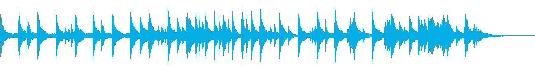 StockMusic33_PianoSamplerの再生済みの波形