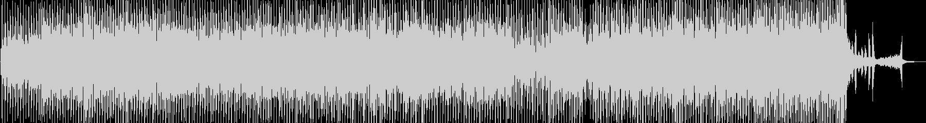 尺八とアコーディオンのオシャレテクノの未再生の波形