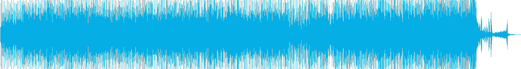 尺八とアコーディオンのオシャレテクノの再生済みの波形