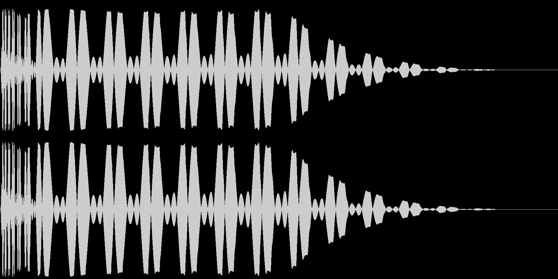キック/ドラム/デジタル/Key-Bの未再生の波形
