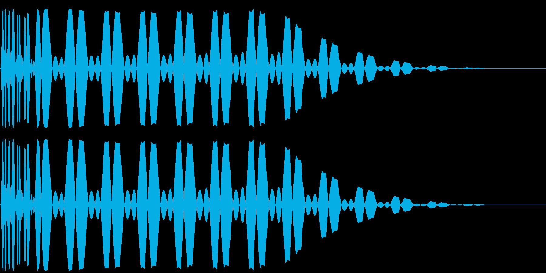 キック/ドラム/デジタル/Key-Bの再生済みの波形