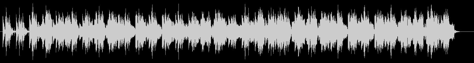 笛と太鼓のお囃子的な楽曲の未再生の波形