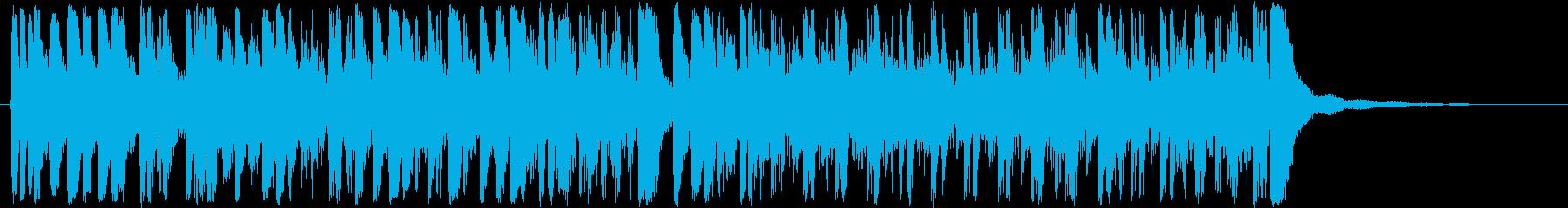 アコースティックドラムセット:地下...の再生済みの波形