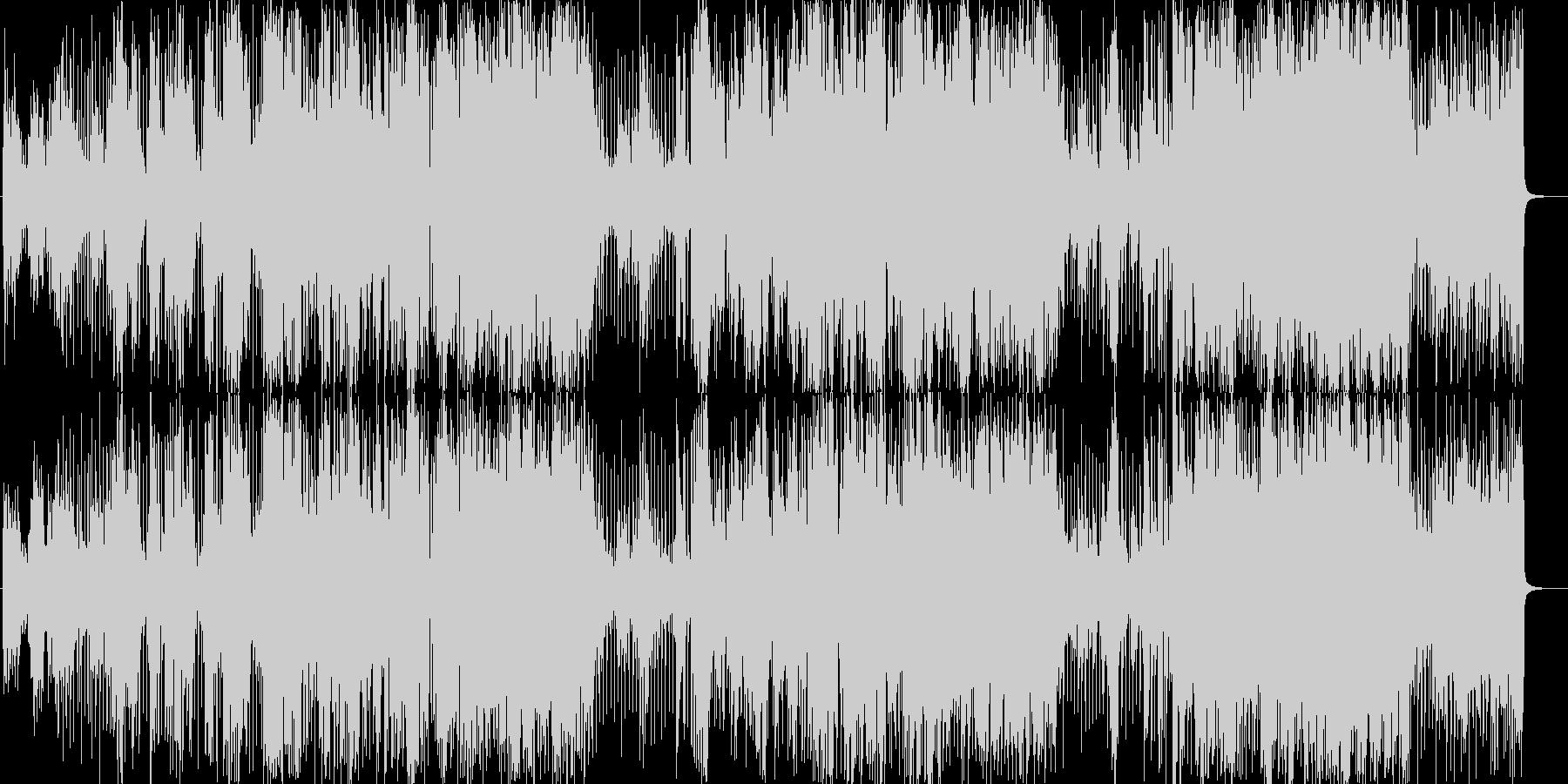 エレキギター/フュージョンの未再生の波形