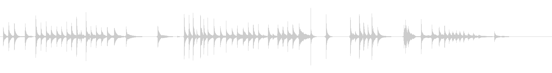 三味線112連獅子5峰を歌舞伎生音和風親の未再生の波形
