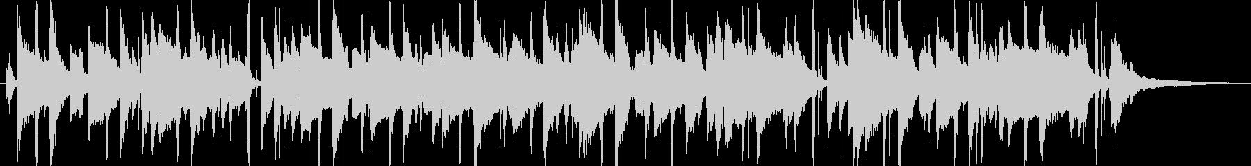 サックスがクールな雰囲気のあるジャズの未再生の波形