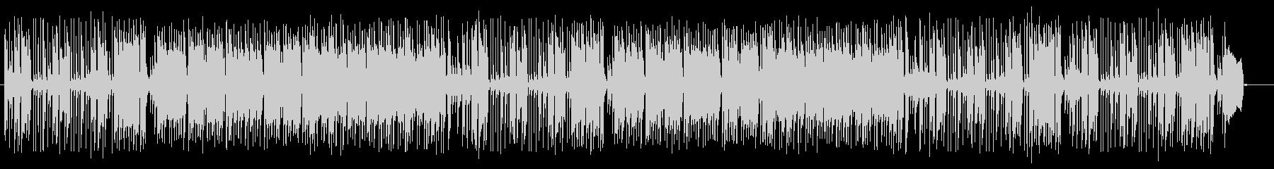 軽快でエキゾチックな音色が特徴のポップスの未再生の波形