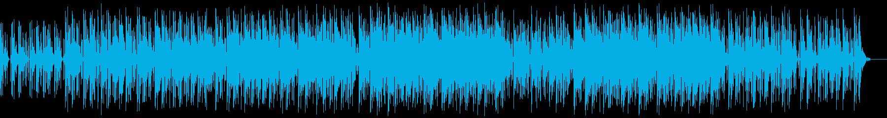 スラップベースの入ったDRUM'N'BAの再生済みの波形