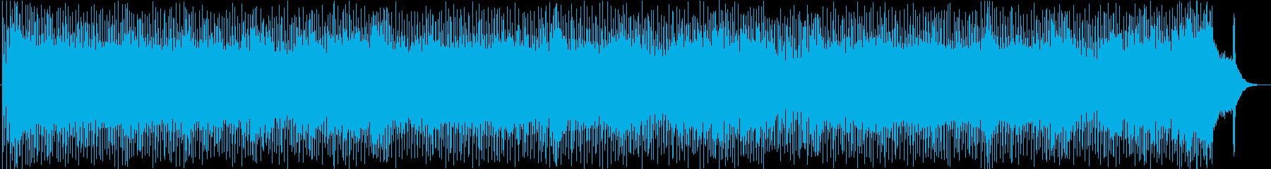 飛び跳ねる 爽やかな80'sビートロックの再生済みの波形