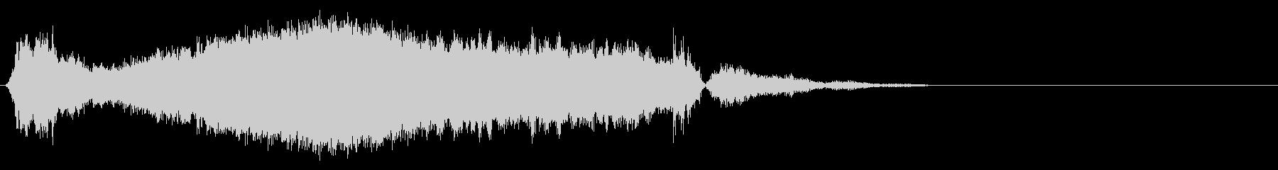 ハッシーノイズスライススイープ3の未再生の波形