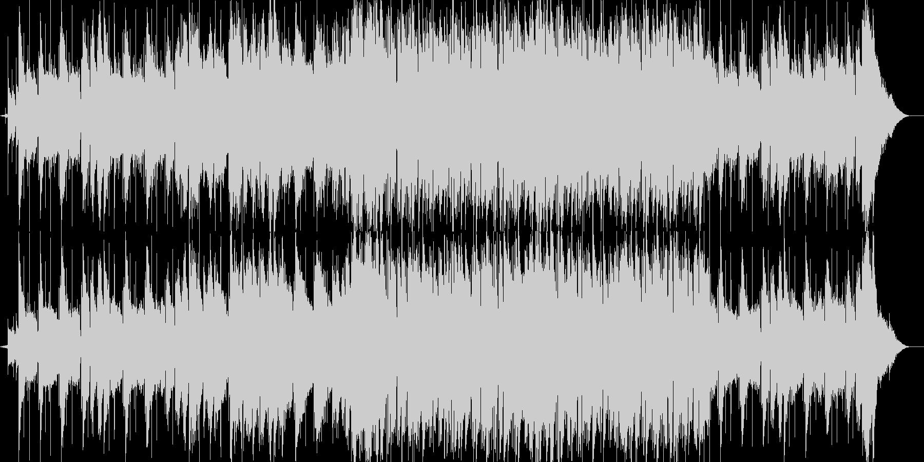 メロウな感動系BGMの未再生の波形