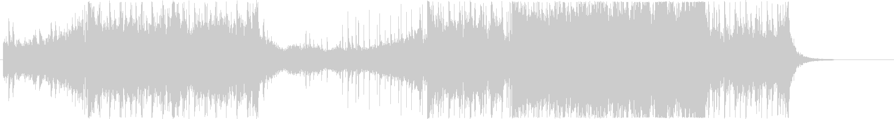 レイドボス戦闘シーン2の未再生の波形