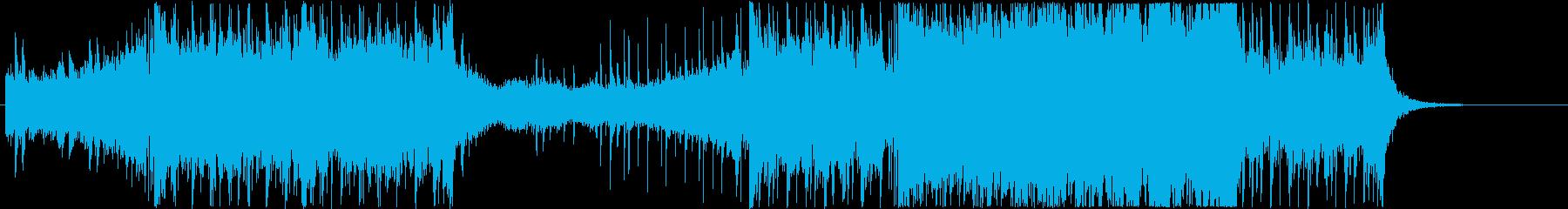 レイドボス戦闘シーン2の再生済みの波形