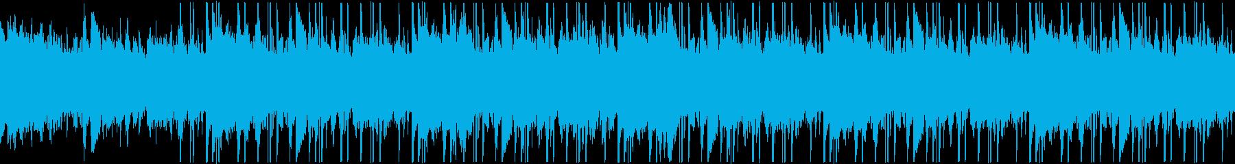 【ループ】アンビエント ヒップホップの再生済みの波形