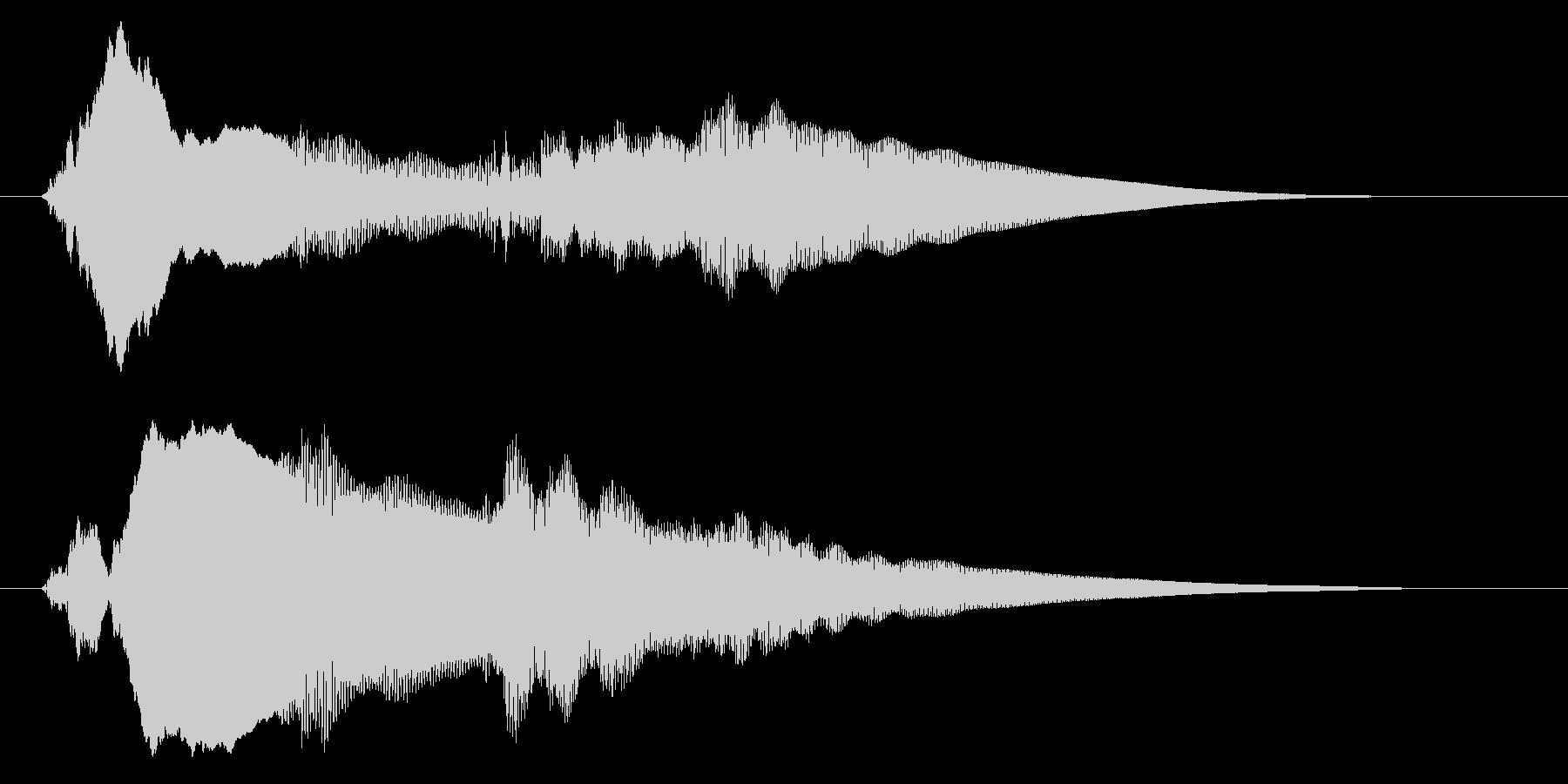 チャイム アナウンス06-5の未再生の波形