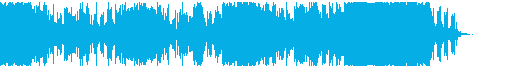 【ジングル】緩やかなEDMサウンドの再生済みの波形